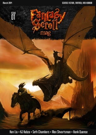 Fantasy Scroll Cover