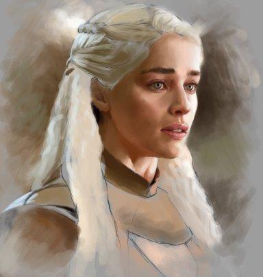 daenerys_targaryen_wip_by_jonathangragg-d92tmp3