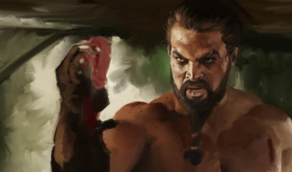 Khal Drogo Speedpaint