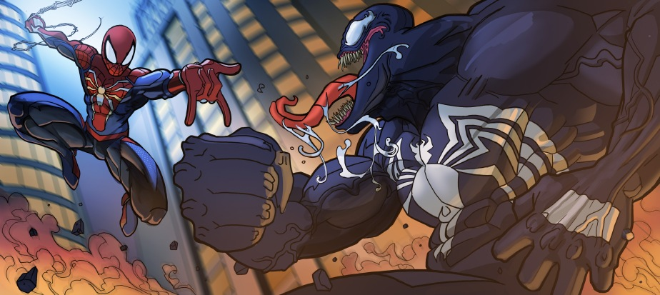 Spiderman vs Venom23