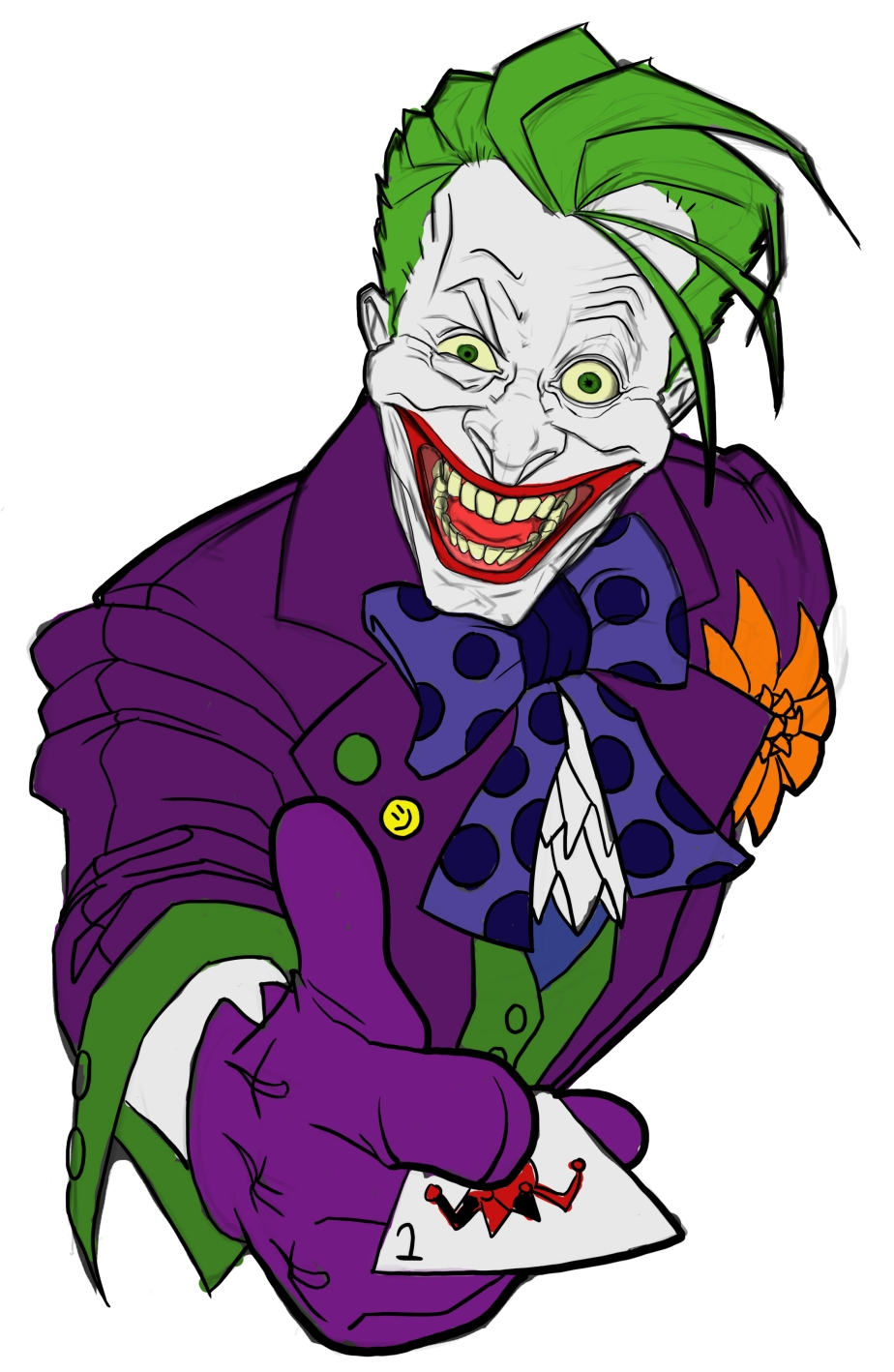 The Joker Colored