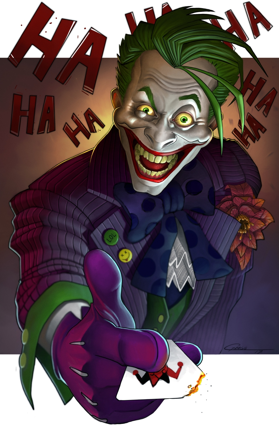 The Joker Finished